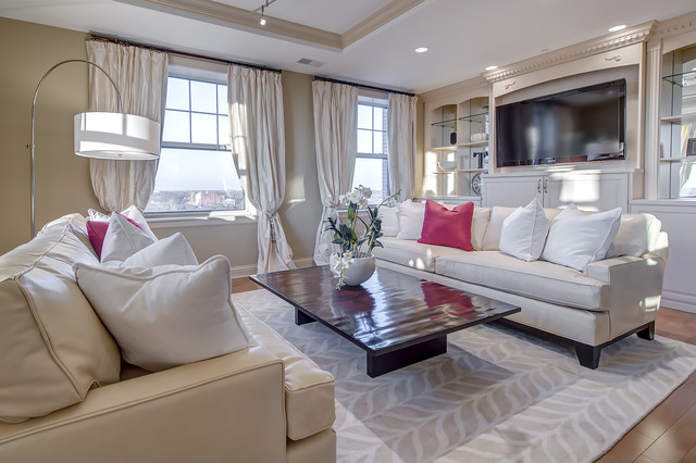 High Rise Living Room Contemporary Living Room St