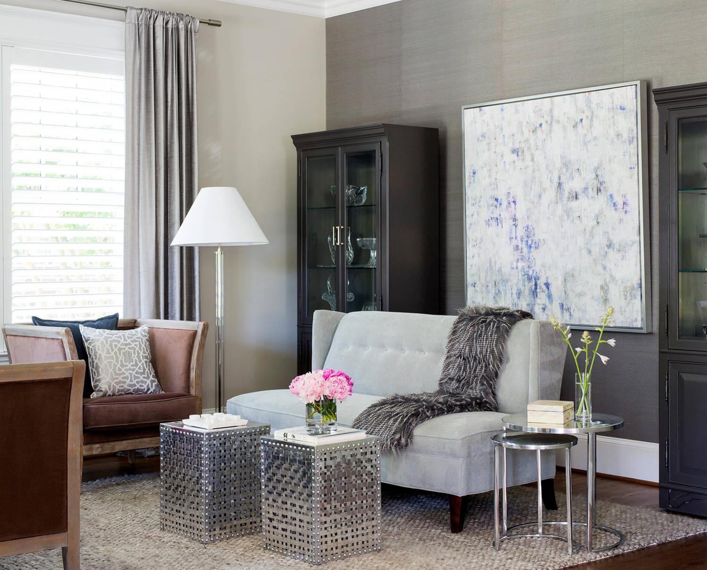 Silver Grey Living Room Ideas Photos Houzz