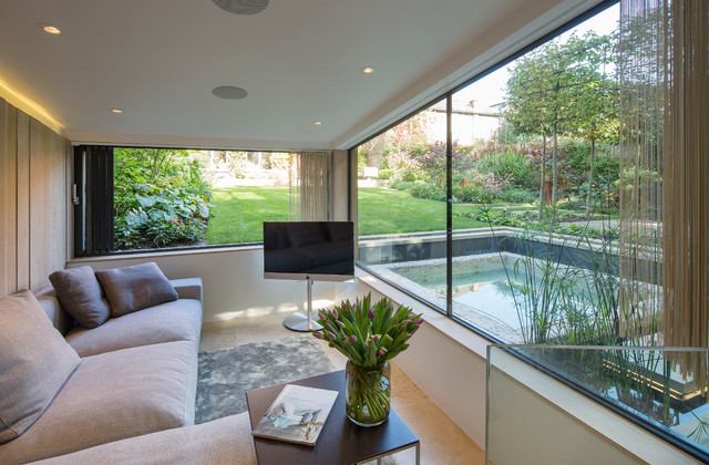 Room of the Day: Spa-Like Relaxing in a London Garden