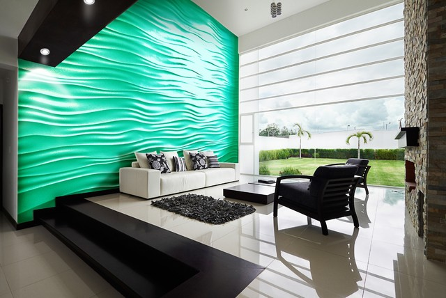 Highland Beach Contemporary Living Room Miami By