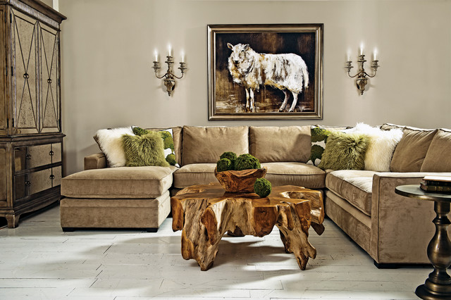 Highland Living Eclectic Living Room By High Fashion