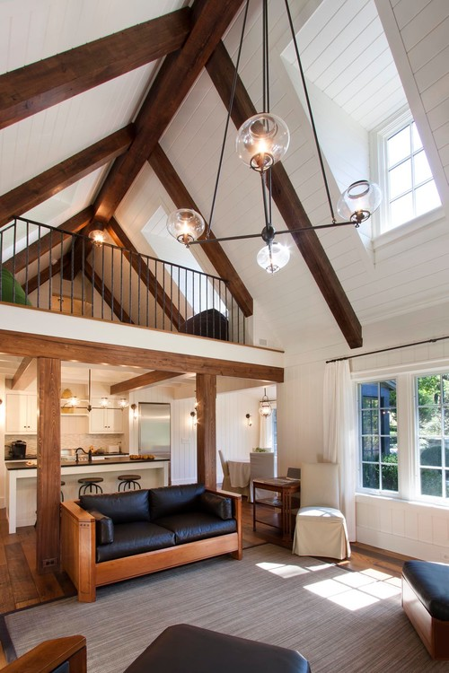 Installing Faux Beams In Your Home Bend Interior