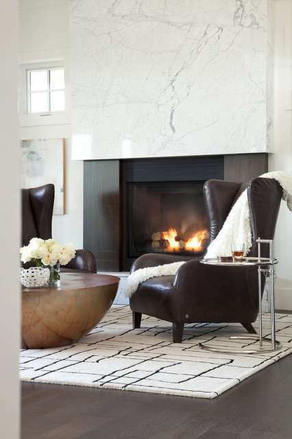 Highpoint Langley Residence contemporary-living-room
