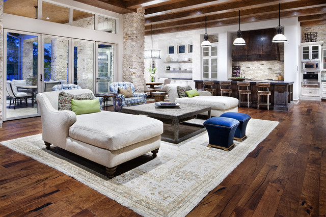 Hill Country Modern contemporary living room