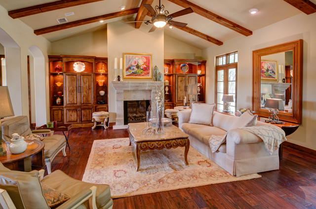 Hill country tuscan austin texas for Living room austin