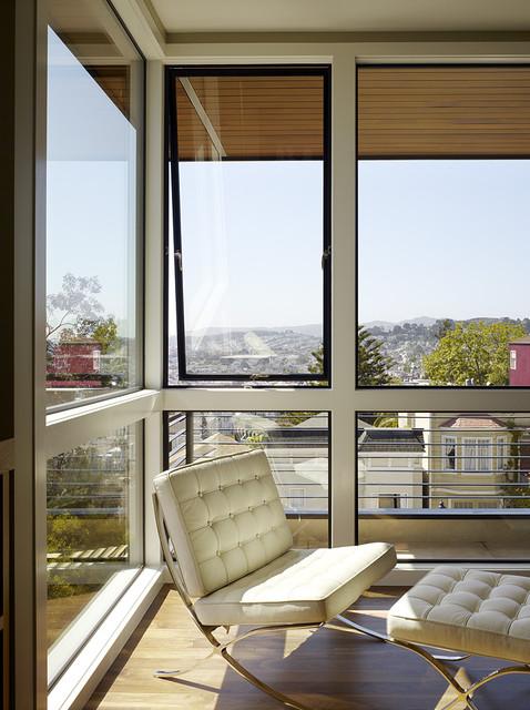 Hill Street Residence modern-living-room