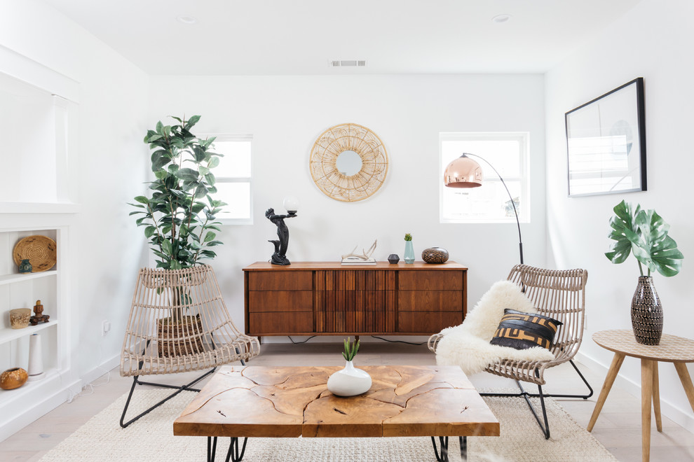 Hillandale Dr 2 Highland Park Contemporary Living Room Los Angeles By Sunstone Interiors