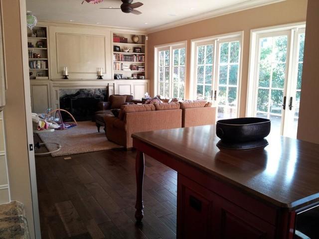 Hilllsoborough Kitchen traditional-living-room