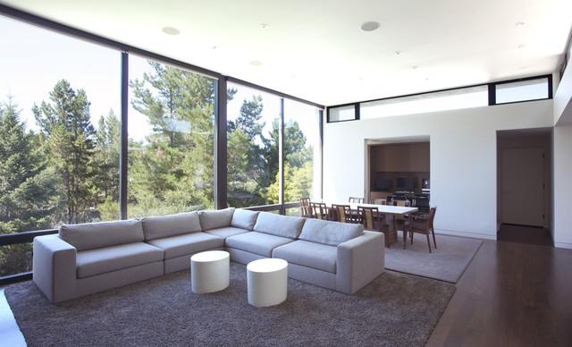 Hillsborough II modern-family-room