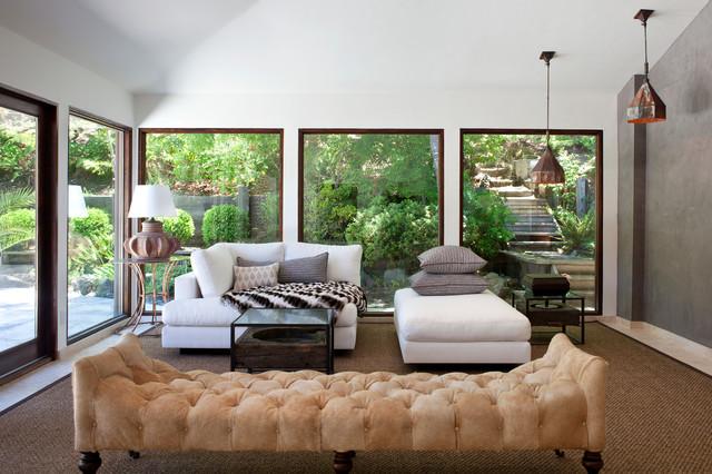 Hillsborough Residence eclectic-living-room