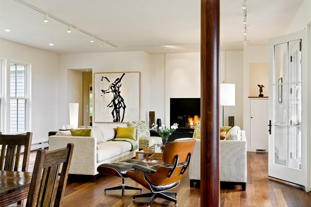 Hillside Residence Hanover NH contemporary-living-room