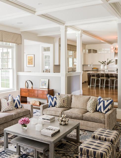 Houzz Living Room Wall Decor: Hilltop Gambrel Family Room