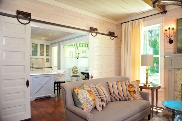 Historic Farmhouse Renovation Living Room