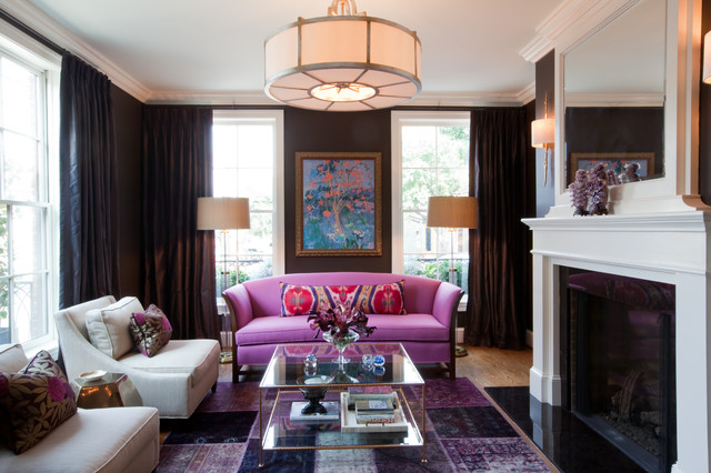 Historic Federal Hill Residence traditional-living-room