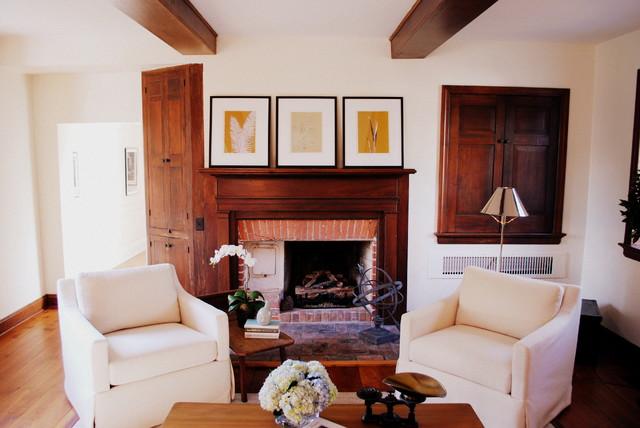Historic Restoration traditional-living-room