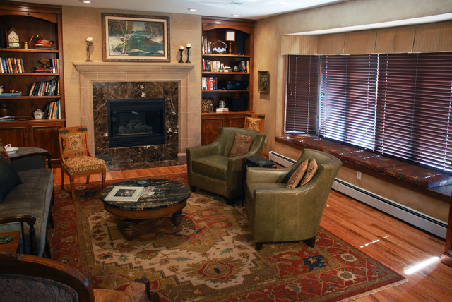 Hixon Interiors traditional-living-room
