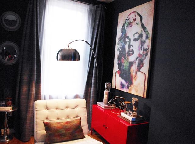 hoboken apartment modern living room new york by