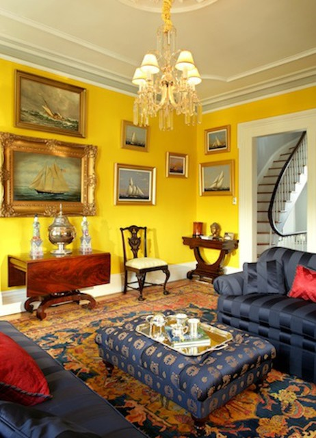 hoboken brownstone eclectic living room other by