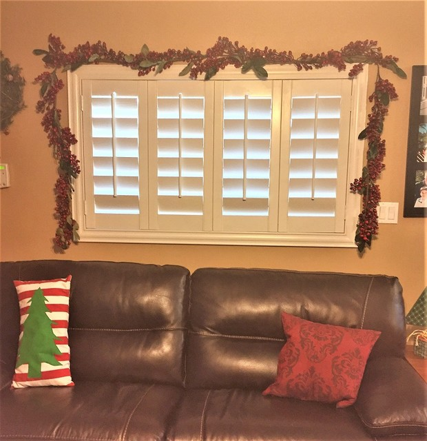 Holiday Decor Ideas For Any Home Living Room Indianapolis By Sunburst Shutters Window
