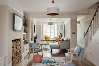 Pleasant 75 Most Popular Contemporary Living Room Design Ideas For Interior Design Ideas Lukepblogthenellocom