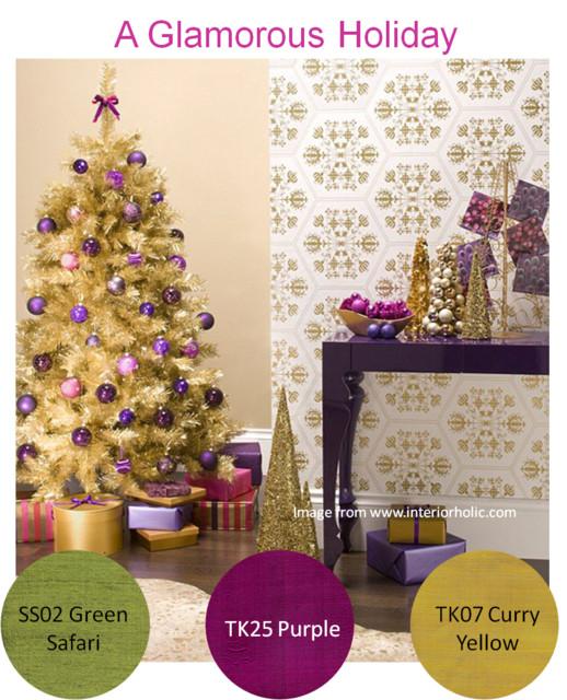 Holiday Inspiration modern-living-room