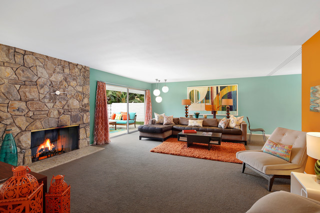Holiday Road midcentury-living-room