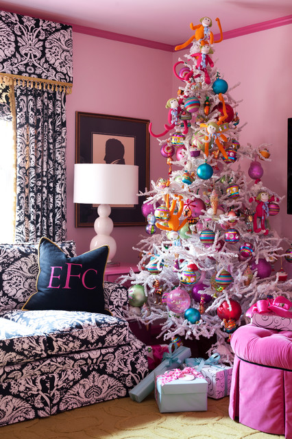Holiday eclectic-living-room