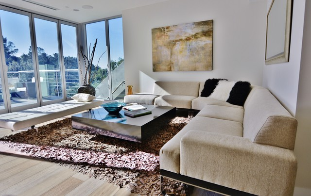 Home Staging - Hollywood, CA contemporary-living-room