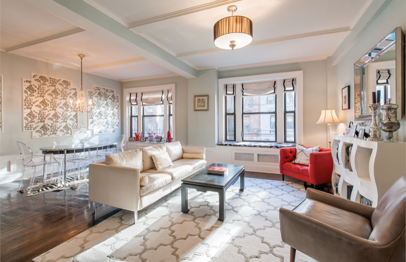 Hollywood Regency inspired apartment — Upper West Side, NYC