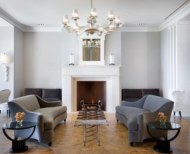 hollywood regency montecito midcentury living room santa barbara