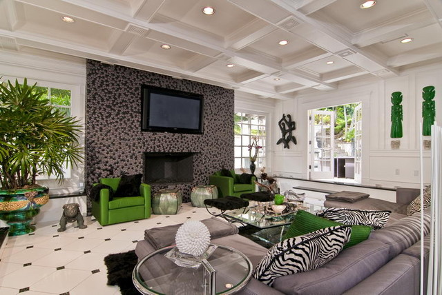 Holmby Hills Residence living-room