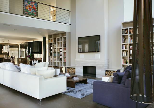 Holmdel nj residence moderno soggiorno new york di for Soggiorno new york