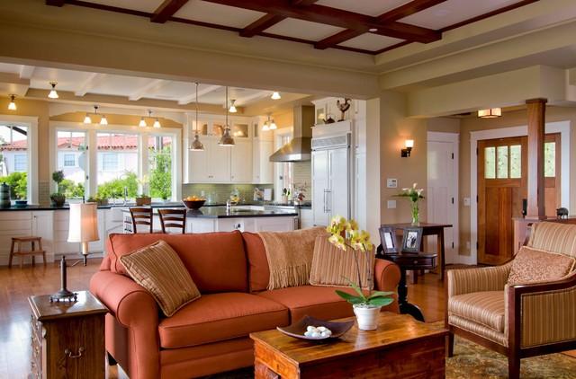 Holt Residence traditional-living-room