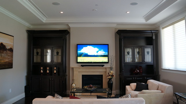 Home Automation 2 - Traditional - Living Room - vancouver - by AV LOUNGE