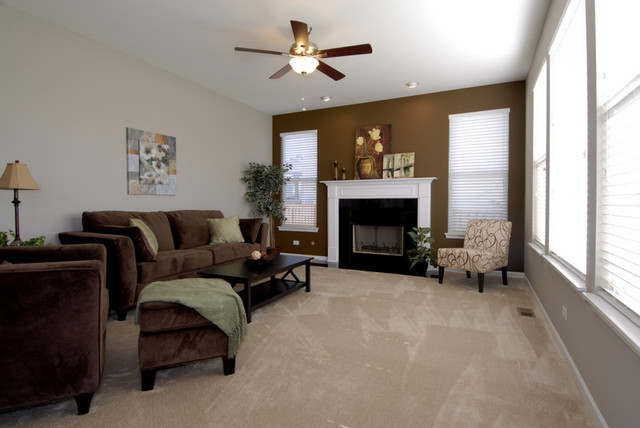 Home Decor Staging Traditional Living Room Chicago By Kendall Partners Ltd