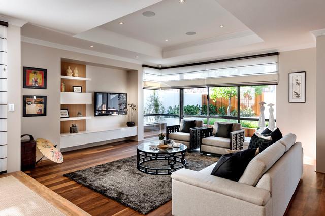 Home Design - The Azumi asian-living-room