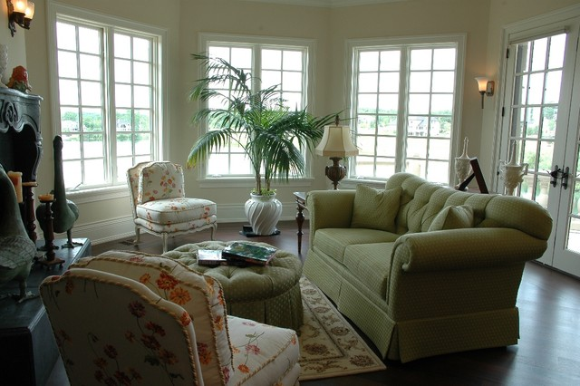 home designs traditional-living-room
