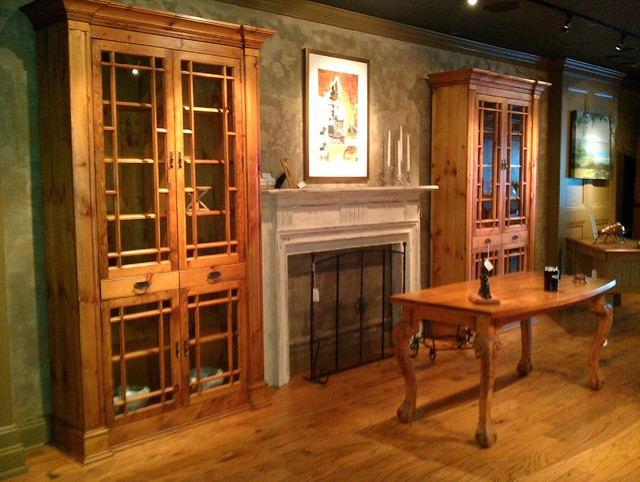 living room bookcase with doors gallery
