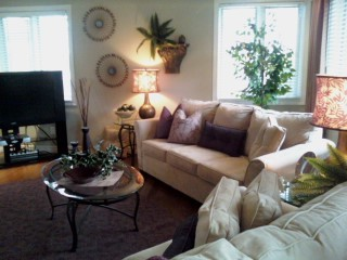 home re-design traditional living room