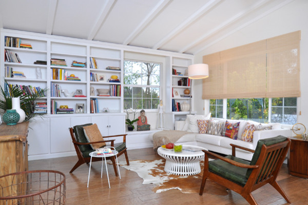 Home remodel: 1950's house - Contemporary - Living Room ...