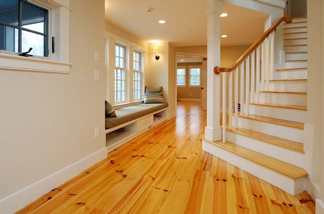 Home Remodeling - Traditional - Living Room - boston - by ...
