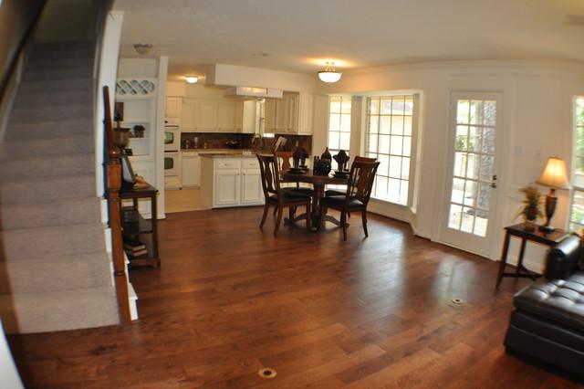 HOME RENOVATIONS traditional-living-room