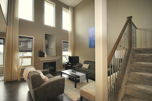 Home Staging By Revealing Assets In Edmonton, AB In Living Room Modern  Living