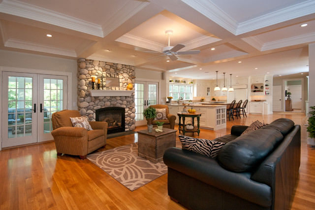 Home Staging Hingham Scituate South Shore MA Traditional Living Room