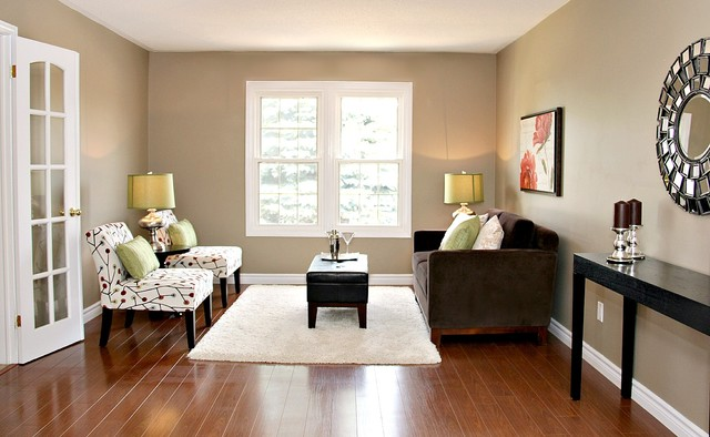 Home Staging In Erin Ontario Traditional Living Room