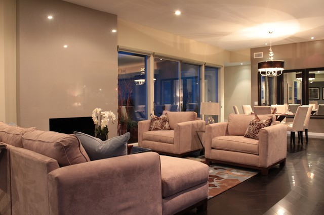 Home Staging LA contemporary-living-room