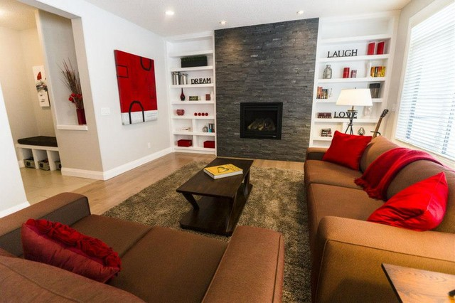 Home Staging to Sell contemporary-living-room