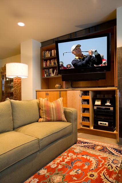 Home Surround Sound Systems contemporary-living-room