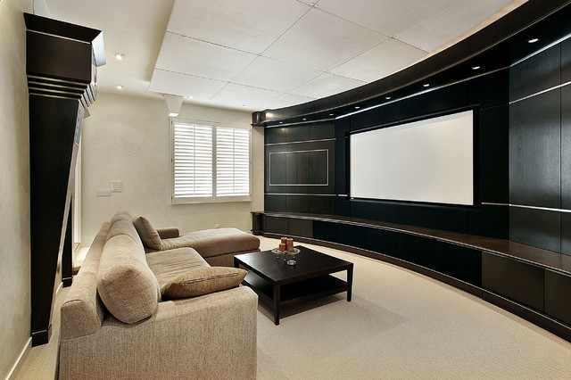 Superb Home Theater Design Ideas By Dreamedia Contemporary Living Room