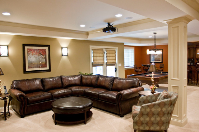 Home Theater - Erlanger, KY contemporary-living-room